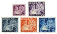 Nederlands Indië 1936 - Nr. 221-225 - Ongebruikt