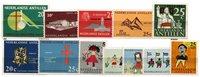 Nederlandse Antillen - jaargang 1963 (nr.333-344, postfris)