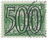 Pays-Bas - 500 ct No 373 - Oblitéré