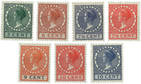 Holland - NVPH 177-183 - Postfrisk
