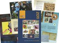 Île de Man - Livre annuel 2011 - Livre Annuel