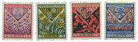 Netherlands 1927 - NVPH R78-R81 - Unused
