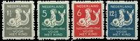 Holland 1929 - NVPH R82-R85 - Ubrugt