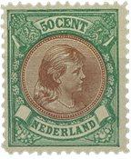 Holland - NVPH 45 - Ubrugt