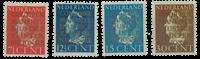 Holland 1940 - NVPH D16-D19 - Ubrugt