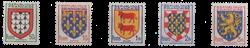 France - YT 899-903 - Neuf