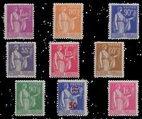 Frankrig - YT 363-371 - Postfrisk