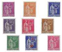 France - YT 363-371 - Neuf