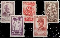 Frankrig - YT 576-80 - Postfrisk