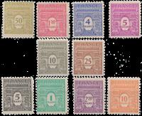Frankrig - YT 620-29 - Postfrisk