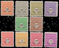 Frankrig - YT 702-11 - Postfrisk