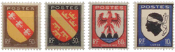 France - YT 755-58 - Neuf