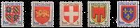 France - YT 834-38 - Neuf