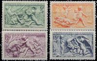 Frankrig - YT 859-62 - Postfrisk