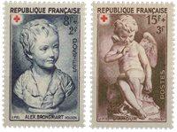 Frankrig - YT 876-77 - Postfrisk
