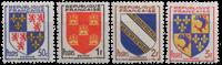Frankrig - YT 951-54 - Postfrisk