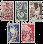 Frankrig - YT 970-74 - Postfrisk