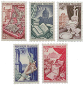 France - YT 970-74 - Neuf
