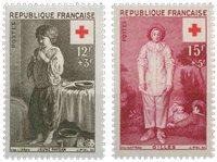 Frankrig - YT 1089-90 - Postfrisk