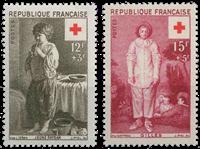 France 1956 - YT 1089-90 - Neuf