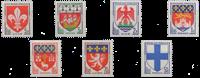 Frankrig - YT 1180-86 - Postfrisk