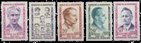 Frankrig - YT 1198-1202 - Postfrisk