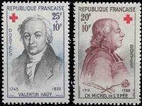 Frankrig - YT 1226-27 - Postfrisk