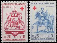 Frankrig - YT 1278-79 - Postfrisk