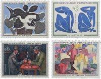 Frankrig - YT 1319-22 - Postfrisk