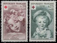 Frankrig - YT 1366-67 - Postfrisk