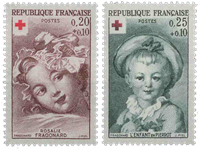 France - YT 1366-67 - Neuf