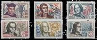 France - YT 1370-75 - Neuf