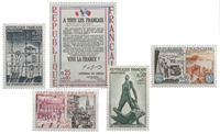 France - YT 1407-11 - Neuf
