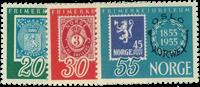 Norge 1955 - AFA nr. 407-09 - postfrisk