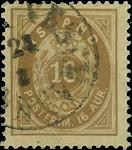 Island 1875-76 - AFA nr. 9 - stemplet