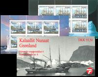 Greenland - Stamp booklet no. 6 - Steamships