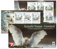 Greenland - Stamp booklet no.  7 - Snow owls