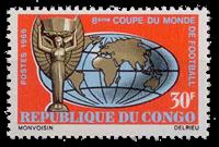 Congo - Coupe du monde de football