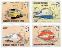 Congo - YT 656-59 - Postfrisk