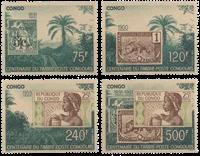 Congo - Centenaire du timbre congolais