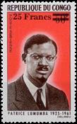 Congo - Personnages célèbres P. Lumumba