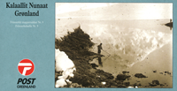 Grønland - Frimærkehæfte nr. 9 - Fjeldørreden