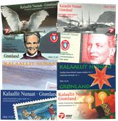 Groenland - 8 carnet de timbres