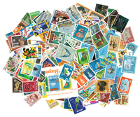 Curacao/Dutch Antilles - 300 different stamps