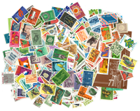 Suriname - 500 different stamps