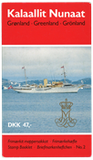 Greenland - Stamp booklet no. 2