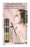 Østrig - Vandfast mascara - Postfrisk frimærke