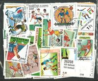 100 Frimærker - Fodbold