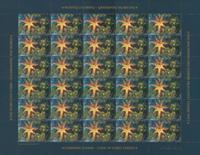 Groenland - Kerstzegels 2010 - Postfris vel