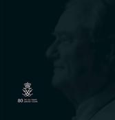 Grønland - Prins Henrik 80 år - Souvenirmappe